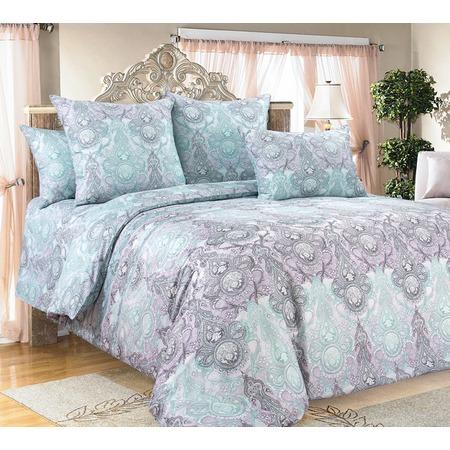 Купить Комплект постельного белья Королевское Искушение «Нега». Тип ткани: сатин. Евро