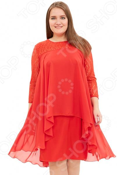 Платье Pretty Woman «Небесная красота». Цвет: красный