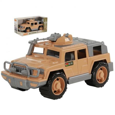 Купить Машинка игрушечная POLESIE «Джип военный. Защитник-Сафари» с 1-м пулемётом