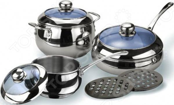 Набор кухонной посуды Vitesse Liane ролевые игры alex набор кухонной посуды из нержавеющей стали все для повара