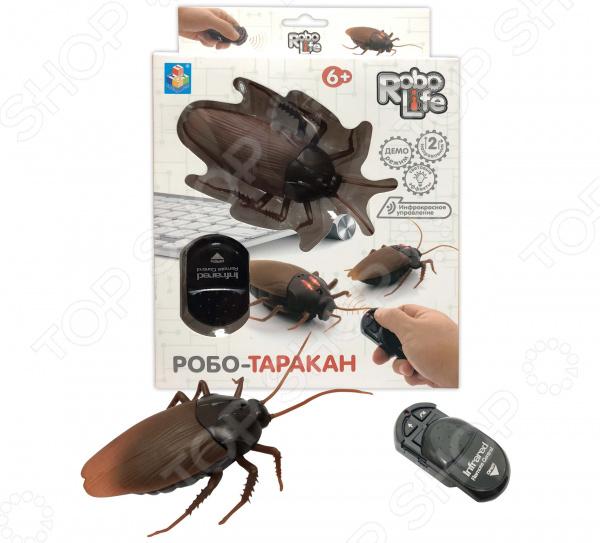 Игрушка интерактивная 1 Toy «Робо-таракан»