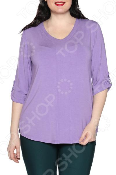 Блуза Kaproni «Праздник души». Цвет: фиолетовый блуза jenks счастливое настроение цвет фиолетовый