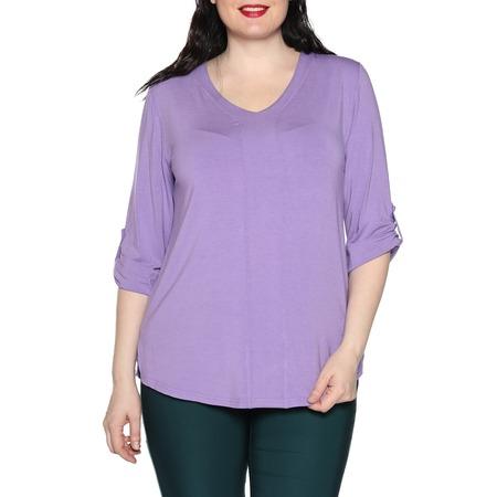 Купить Блуза Kaproni «Праздник души». Цвет: фиолетовый