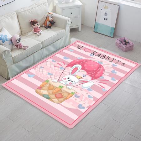 Купить Ковер ТамиТекс «Малыш розовый»