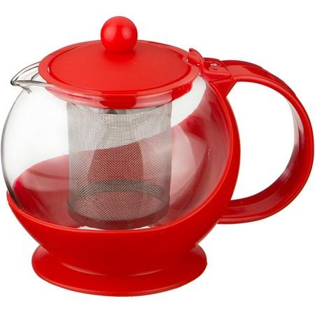 Чайник заварочный Agness с фильтром из нержавеющей стали