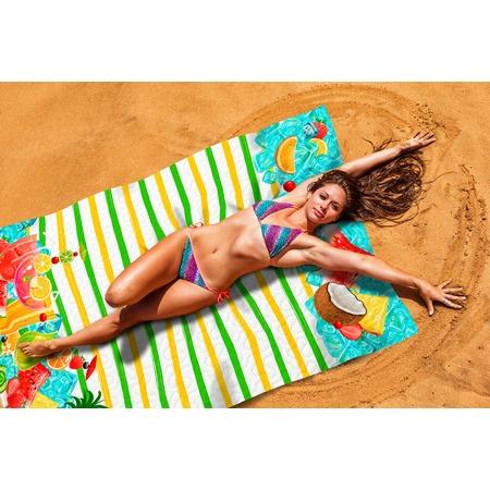 Купить Покрывало пляжное Сирень «Охлаждающий фреш»