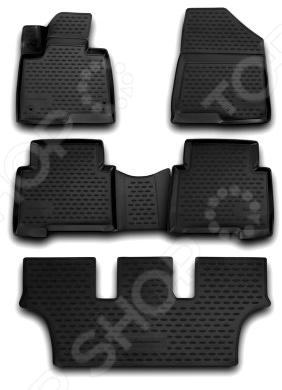 Комплект 3D ковриков в салон автомобиля Novline-Autofamily Lexus GX 460 2013 5 коврик в багажник novline lexus gx460 7 местн 02 2010 2013 2013 разложенные сиденья заднего ряда полиуретан nlc 29 12 b13