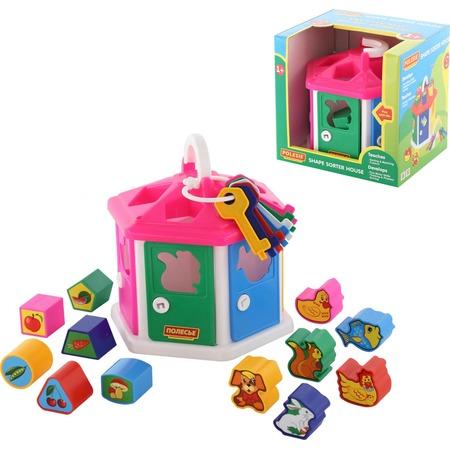 Купить Игрушка развивающая POLESIE «Логический домик»