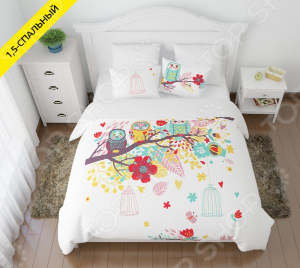 Комплект постельного белья Сирень «Волшебный сон» цены онлайн