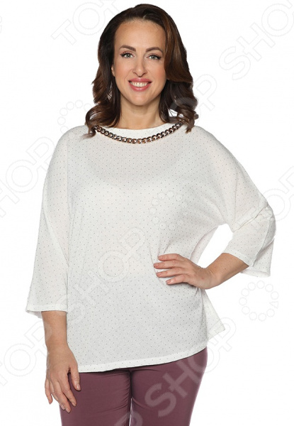 Блуза Wisell «Маркиза ангелов». Цвет: белый ароматическое украшение аромат маркиза elff decor цвет белый