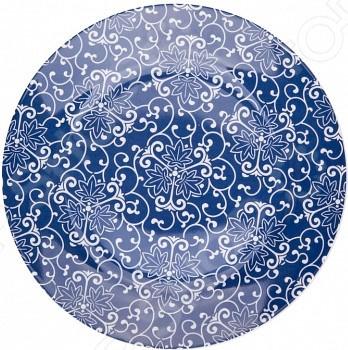 Набор обеденных тарелок Miolla «Синие узоры»