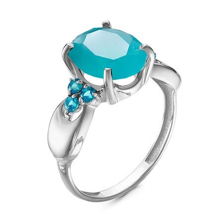 Купить Кольцо «Голубая волна» 1000-0141