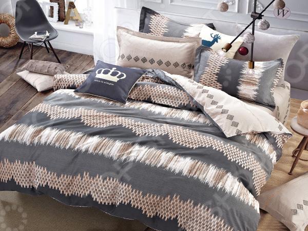 Комплект постельного белья Cleo 405-SK комплекты постельного белья cleo постельное белье hunter 2 спал
