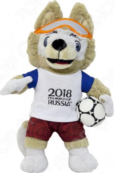 Мягкая игрушка FIFA 2018 «Волк Забивака» игрушка