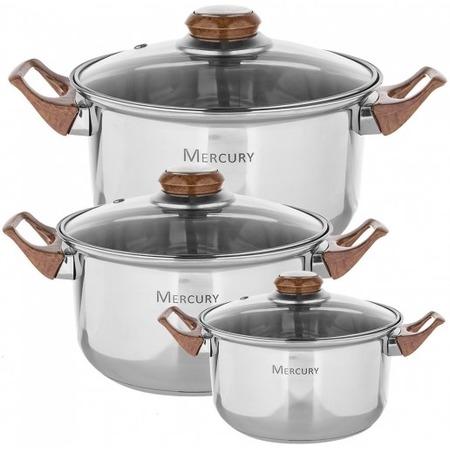 Купить Набор посуды Mercury MC 6018