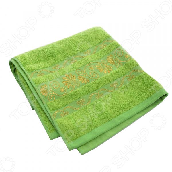 Полотенце банное BONITA «Цветущий лайм»