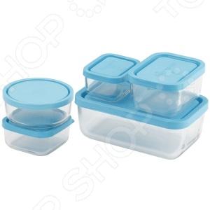 Набор контейнеров для продуктов Bormioli Rocco Frigoverre B388840