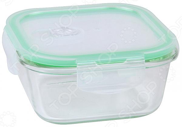 Контейнер для хранения продуктов вакуумный Rosenberg контейнер вакуумный пластиковый для хранения продуктов 136х136х71 мл 600 мл желтый 1249501