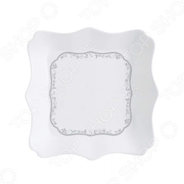 Тарелка суповая Luminarc Authentic Silver luminarc authentic