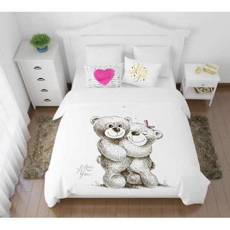 Купить Комплект постельного белья Сирень «Сладкая парочка»