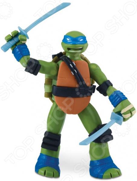 Игрушка-фигурка Nickelodeon «Лео с боевым панцирем»