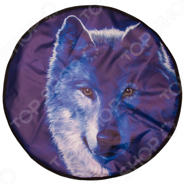 Чехол для запасного колеса SKYWAY «Волк» чехол для запасного колеса skyway пантера