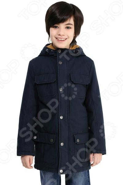 Куртка детская Finn Flare Kids KB17-81005J. Цвет: темно-синий