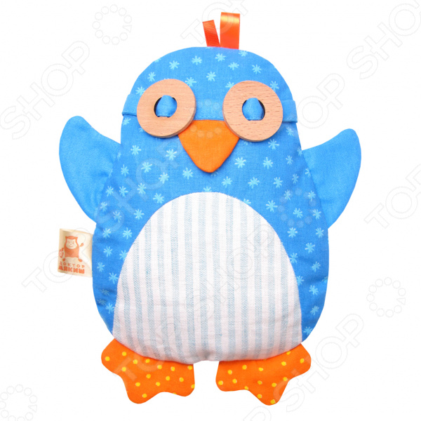 Игрушка-грелка Мякиши «Доктор Мякиш-Пингвин» грелка из вишневых косточек
