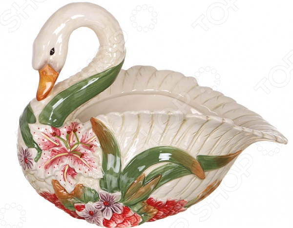 Фруктовница Lefard «Лебедь» lefard фруктовница kenya 20х22х35 см