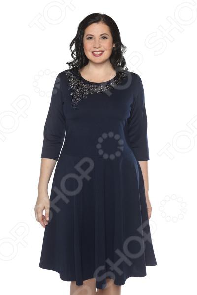 Платье Blagof «Сияние сердца». Цвет: тесно-синий