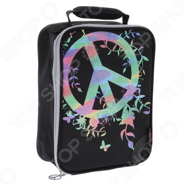 Термосумка Thermos Peace Sign Upright Lunch Kit upright dg184bp