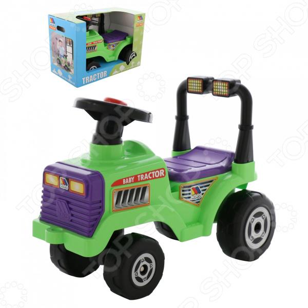 Машина-каталка POLESIE «Трактор Митя» каталка трактор с педалями turbo 52674