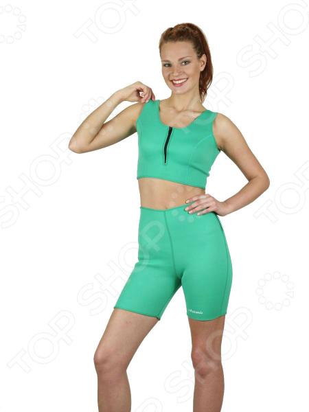 Комплект для похудения: топ и шорты 01001041