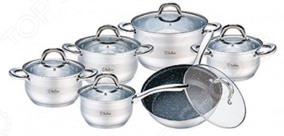 Набор посуды Bollire BR-4004 набор кастрюль bollire br 4008