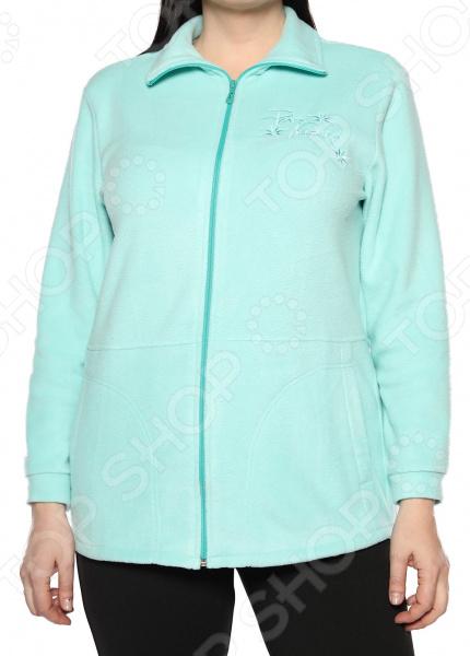 Пуловер El Fa Mei «Мягкое мгновение». Цвет: мятный пуловер miamoda klingel цвет мятный
