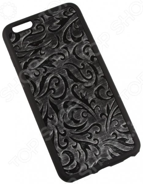 Чехол для iPhone 6/6S Plus Old «Узоры на серебре»