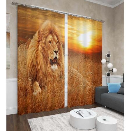 Купить Фотошторы Сирень «Король лев»