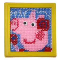Набор для вышивания детский Peppa Pig «Модница»