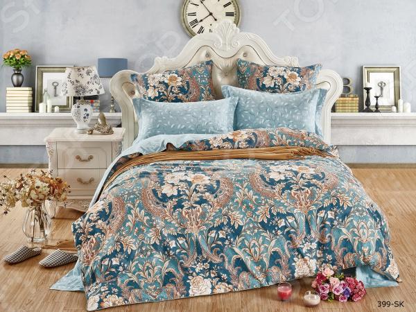 Комплект постельного белья Cleo 399-SK комплекты постельного белья cleo постельное белье hunter 2 спал