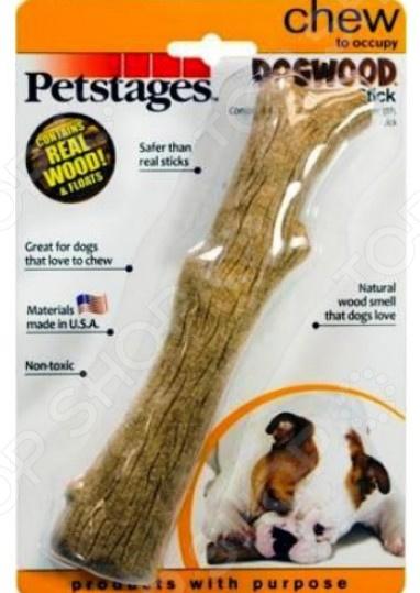 Игрушка для собак Petstages Dogwood «Палочка деревянная» новая деревянная игрушка для новорожденных игрушка монтессори