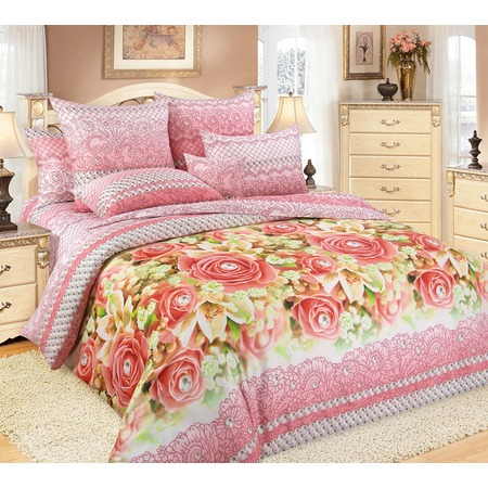 Купить Комплект постельного белья Королевское Искушение «Жемчуг». Евро