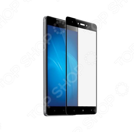 Стекло защитное 2.5D Media Gadget полноклеевое для Xiaomi Redmi Note 4X цена и фото