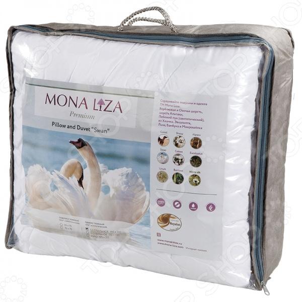 Подушка с термостежкой Mona Liza «Лебяжий пух»
