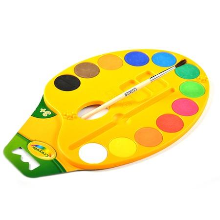 Набор красок Crayola с кисточкой