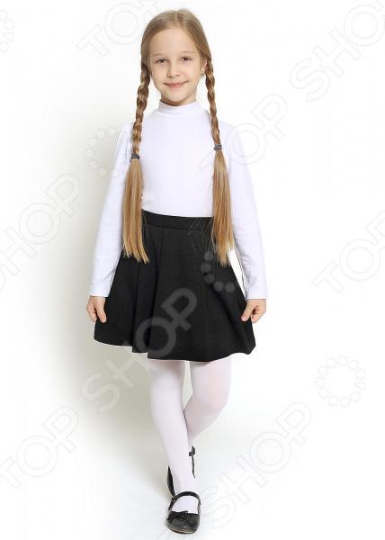 Джемпер для девочки Clever Wear с воротником «стойка»