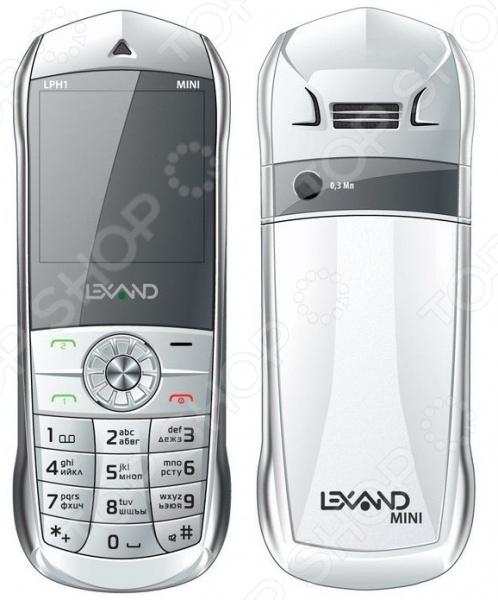 Мобильный телефон Lexand LPH1 мобильный телефон lexand lph1 mini белый 1 44