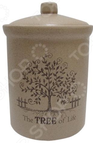 Банка для сыпучих продуктов Terracotta «Дерево жизни»