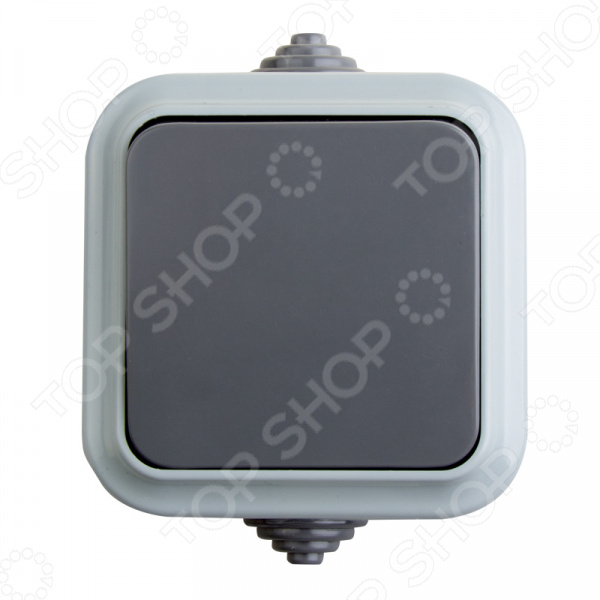 Переключатель влагозащищенный Rexant 78-0520 светильник для бани влагозащищенный термостойкий ip54