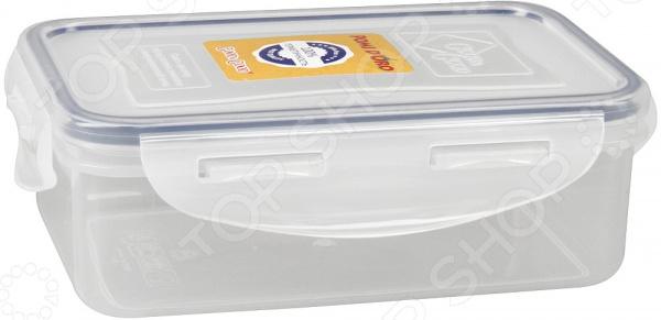 Контейнер для продуктов прямоугольный Rosenberg прозрачный