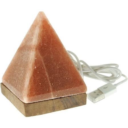 Купить Лампа солевая с USB-разъемом Zenet «Пирамида»